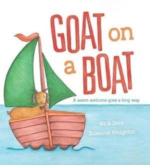 <p>Goat on a boat</p>