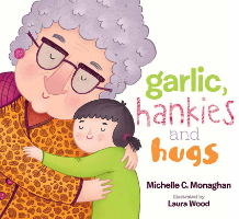 <p>Garlic, hankies and hugs</p>