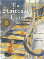 <p>The Staircase Cat</p>